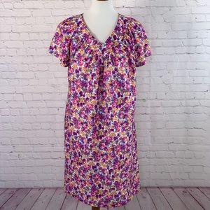 Vintage Granada Muu Muu Floral Dress Size Small